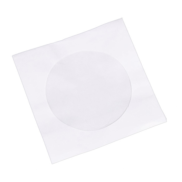 100 pack cd dvd disc paper sleeves storage bag case for 100 paper cd sleeves with window flap
