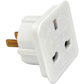 Uk To Us Usa American Canada Jamaica Thailand Taiwan Travel Plug Adapter Adaptor 8800216204887